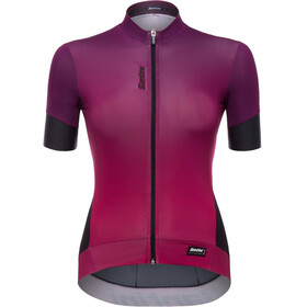 Santini Queen 2.0 FZ SS Jersey Women purple
